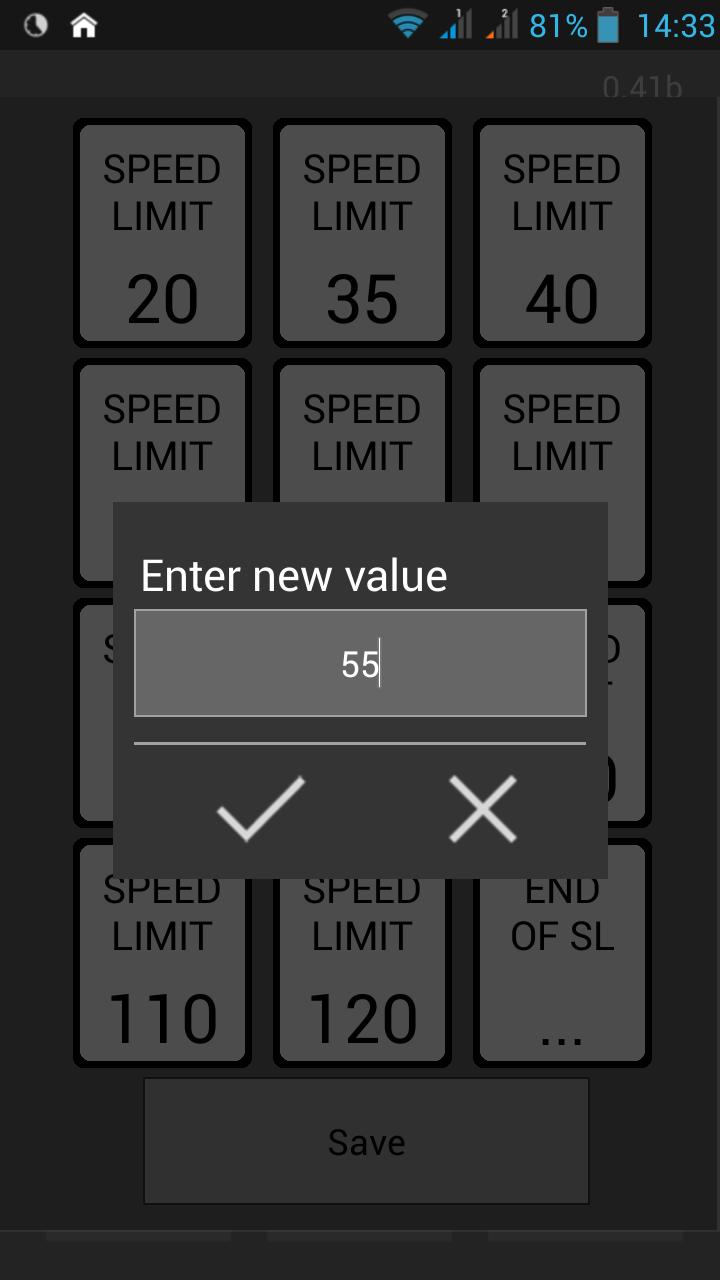 Waze SLB / Waze Speed Limit Button